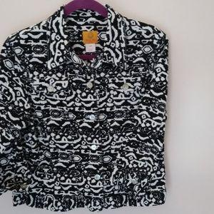 Ruby Rd. Petite Stretch Jacket 3/4 Sleeve